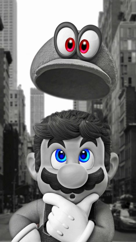 Mario iPhone Wallpaper