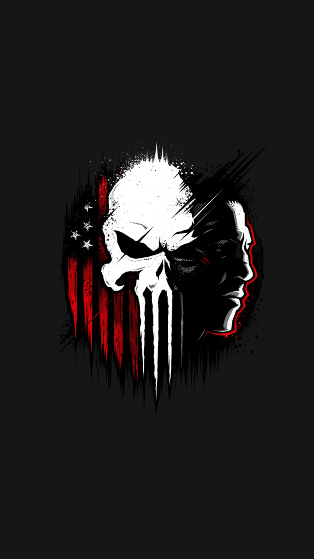 Punisher iPhone Wallpaper