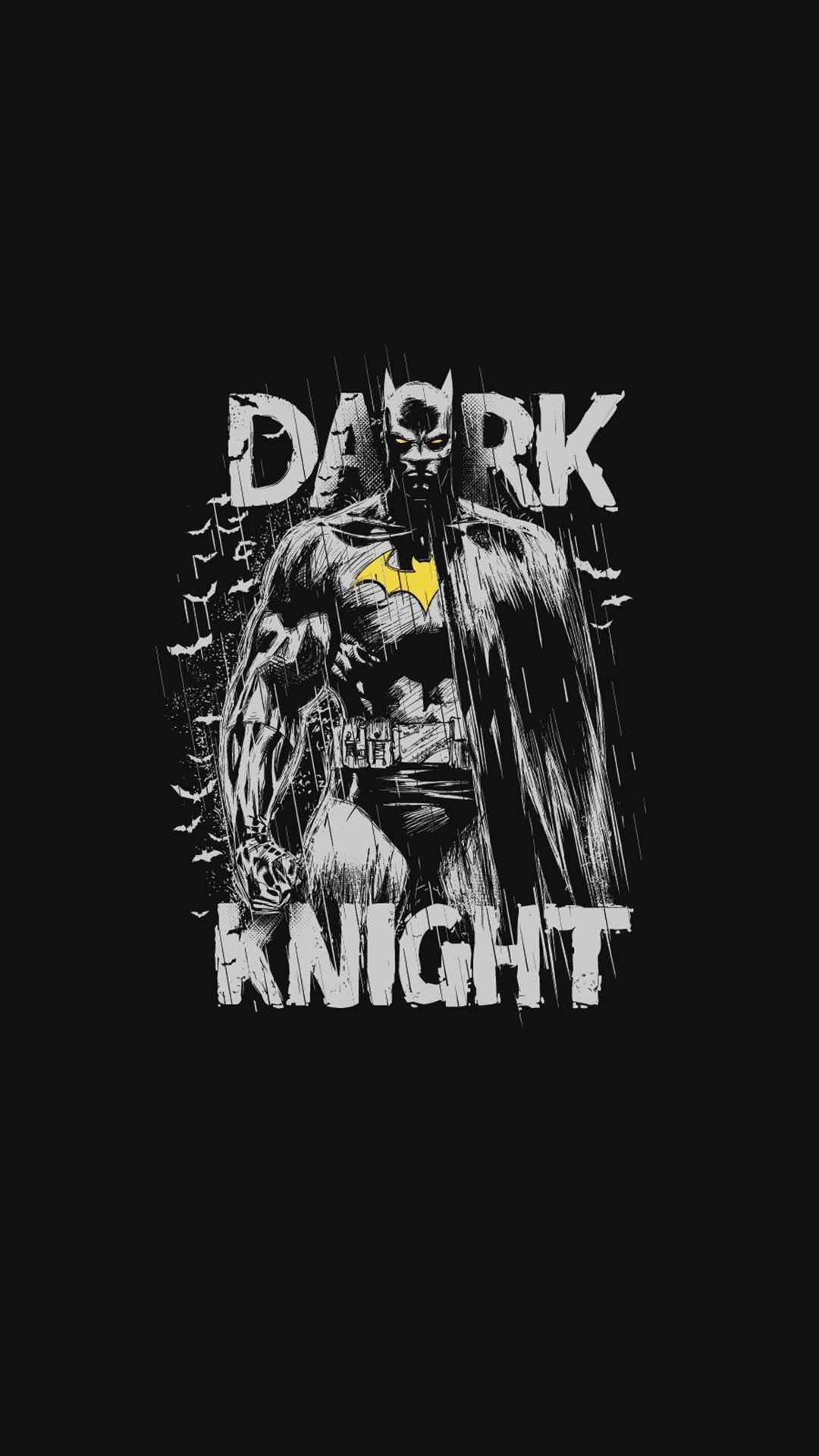 The Batman Minimal Dark Knight iPhone Wallpaper