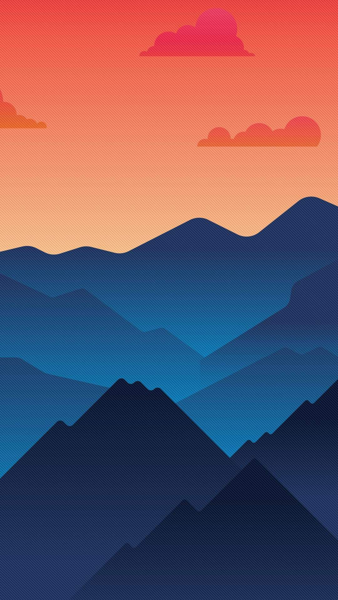 Abstract Hills iPhone Wallpaper