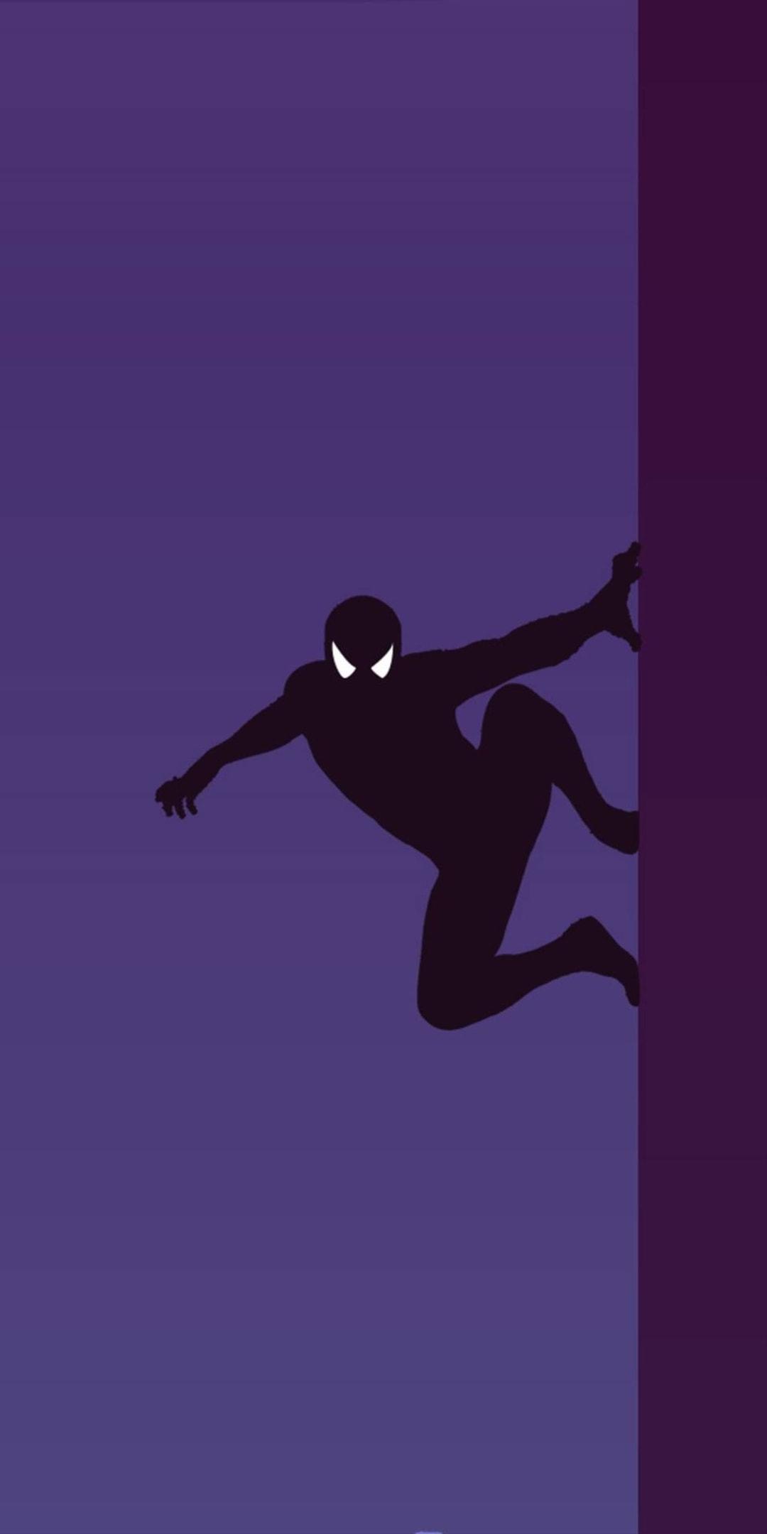 Amoled Spider Man iPhone Wallpaper