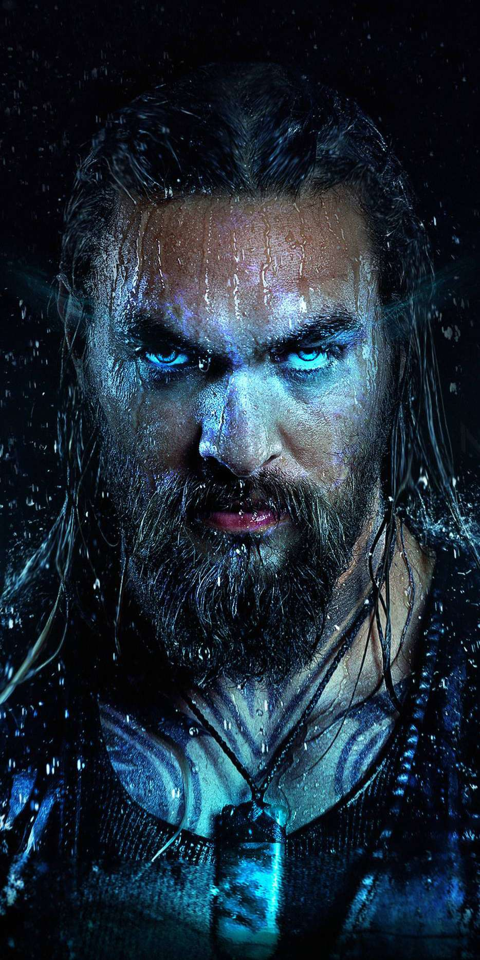 Aquaman Jason Momoa iPhone Wallpaper