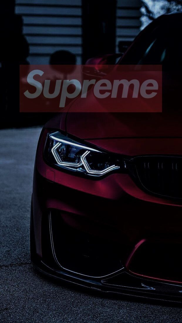 BMW Supreme iPhone Wallpaper