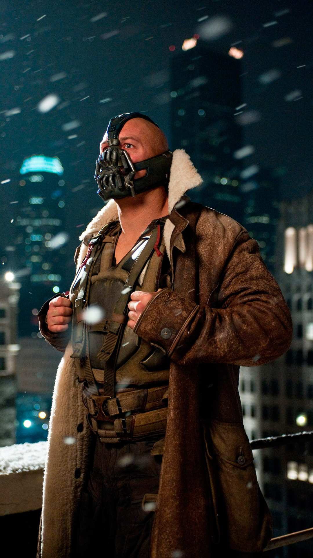 Bane Supervillain iPhone Wallpaper