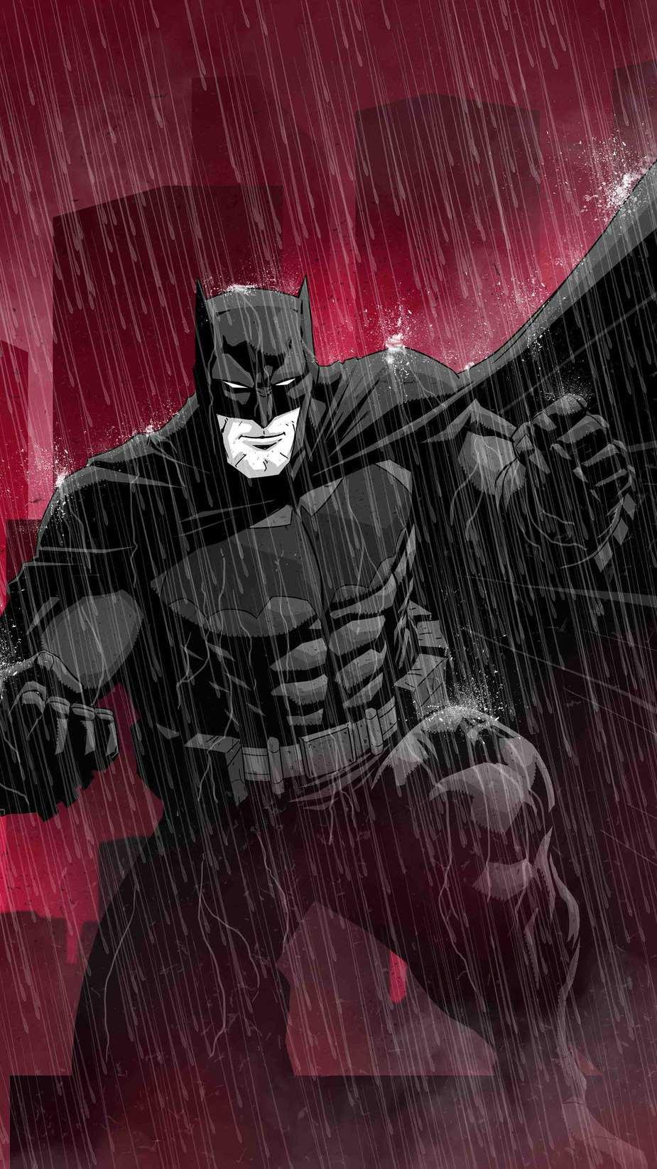 Batman Anime iPhone Wallpaper