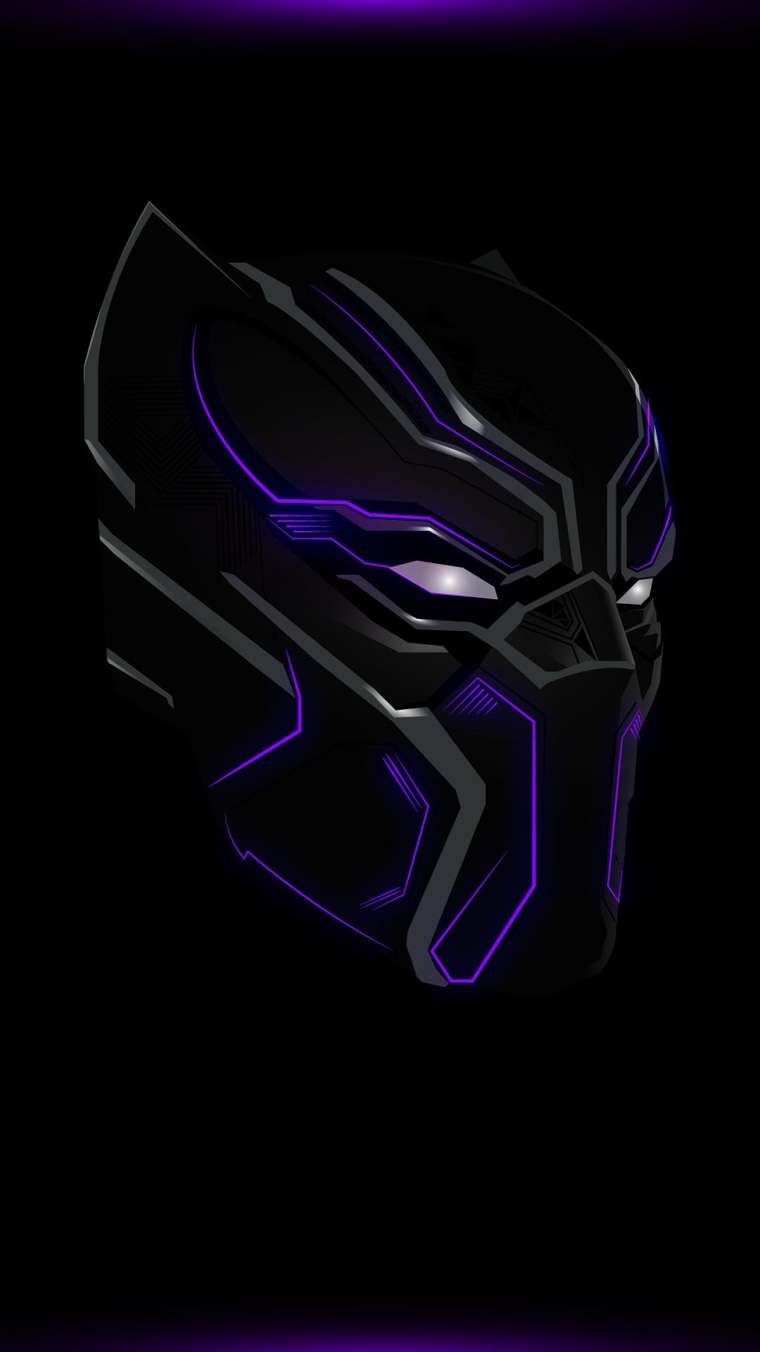 Black Panther 2 Suit iPhone Wallpaper