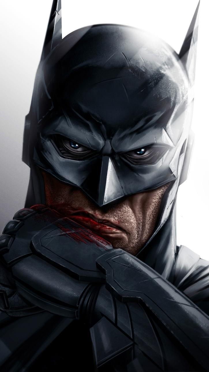 Bleeding Batman iPhone Wallpaper