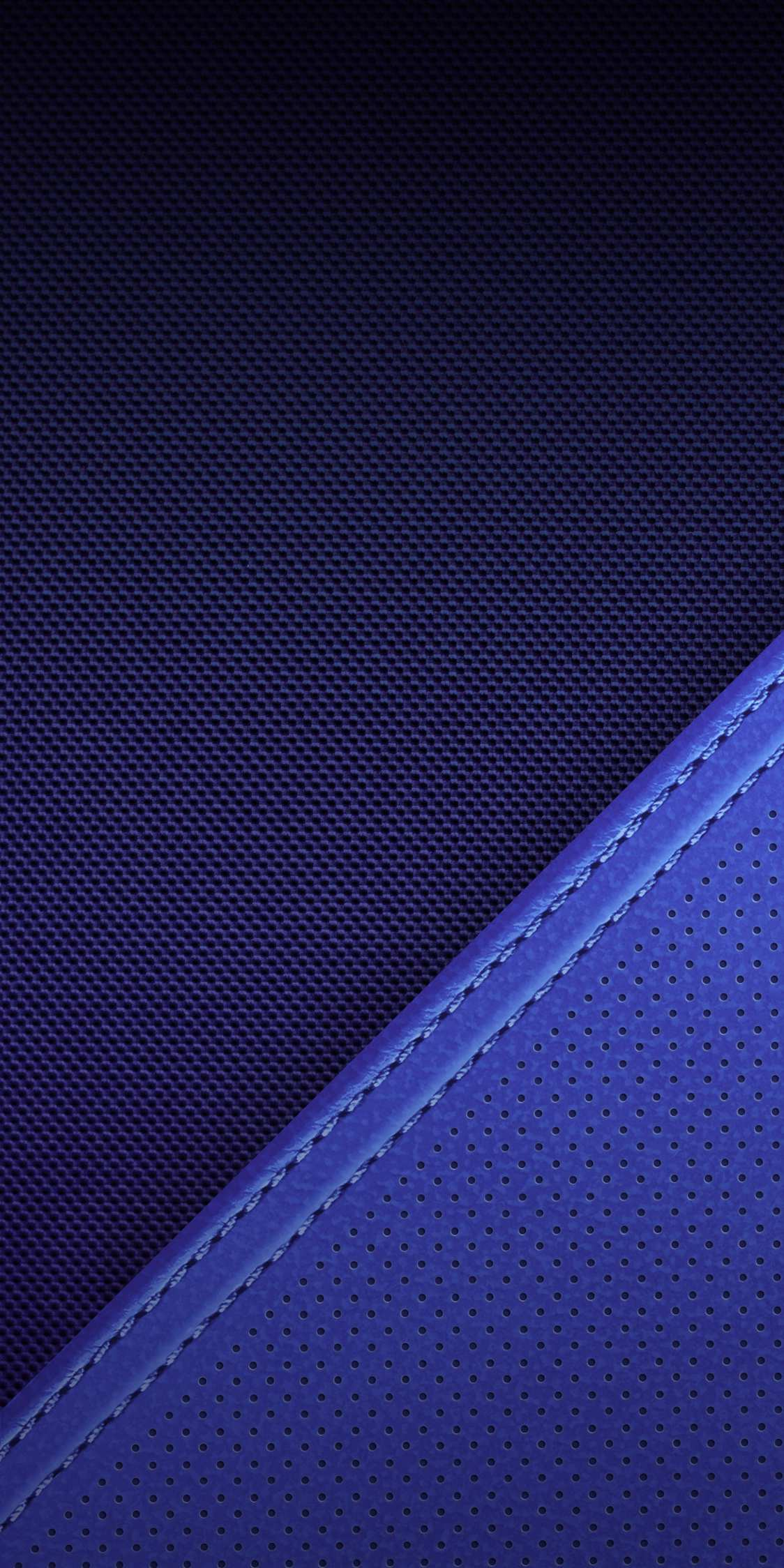 Blue Meterial iPhone Wallpaper
