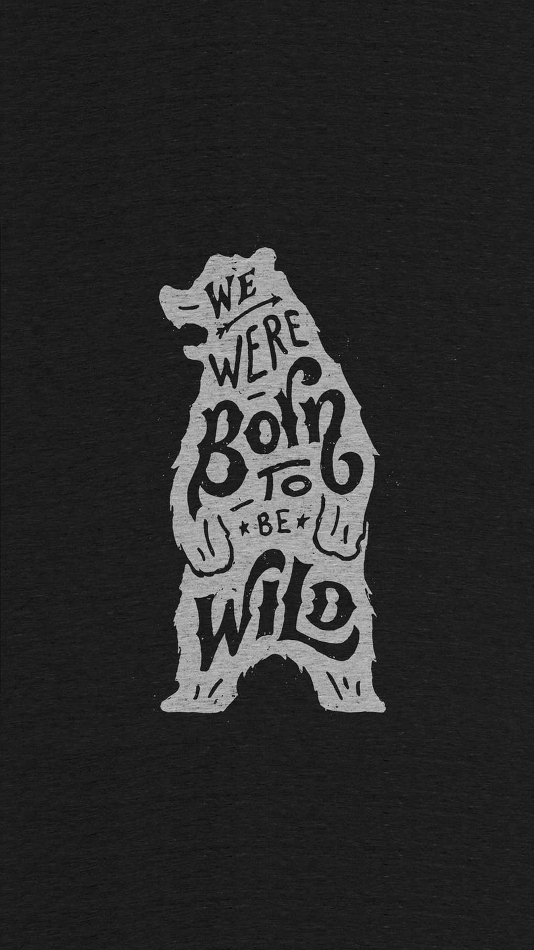 Born to be Wild iPhone Wallpaper