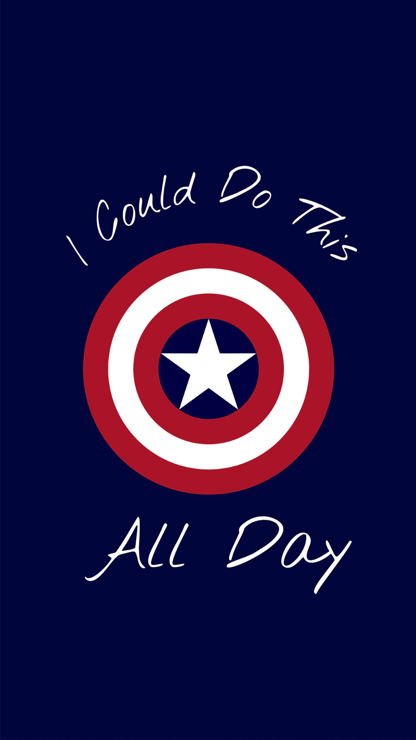 Captain America Best Quote iPhone Wallpaper