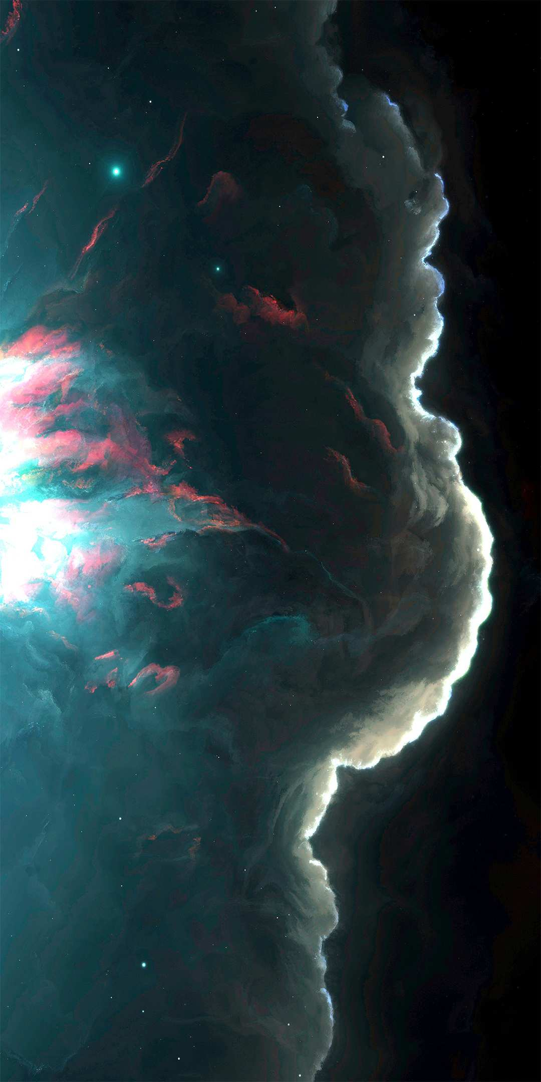 Cosmic stardust iPhone Wallpaper