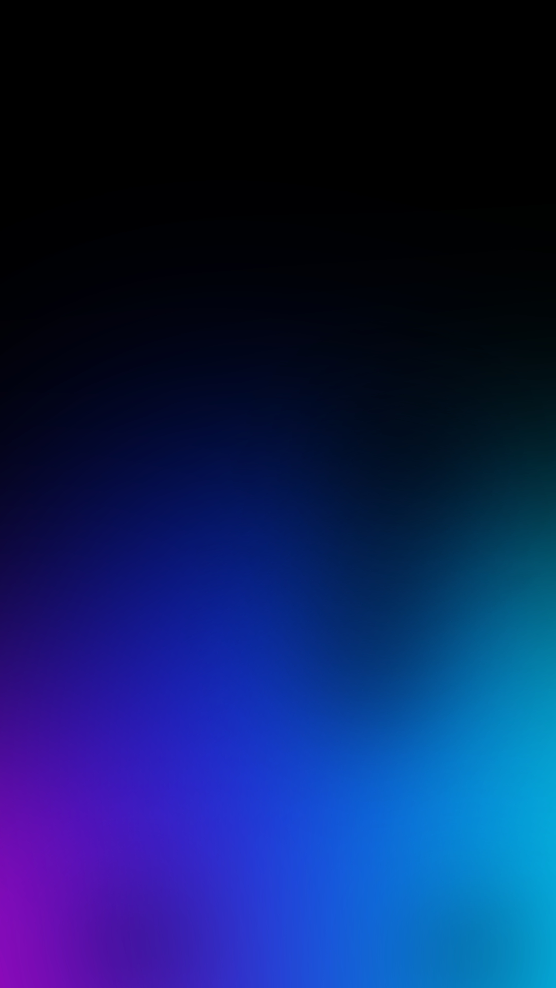 Dark Blue Gradient iPhone Wallpaper