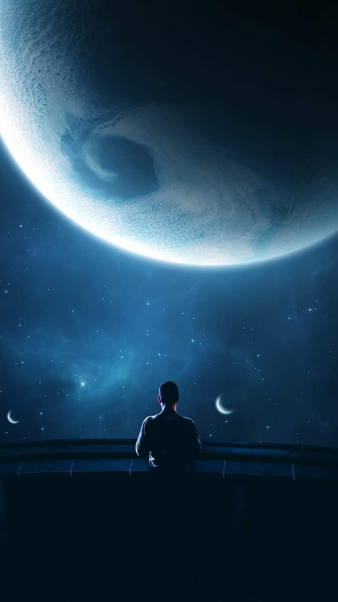 Explore Space iPhone Wallpaper