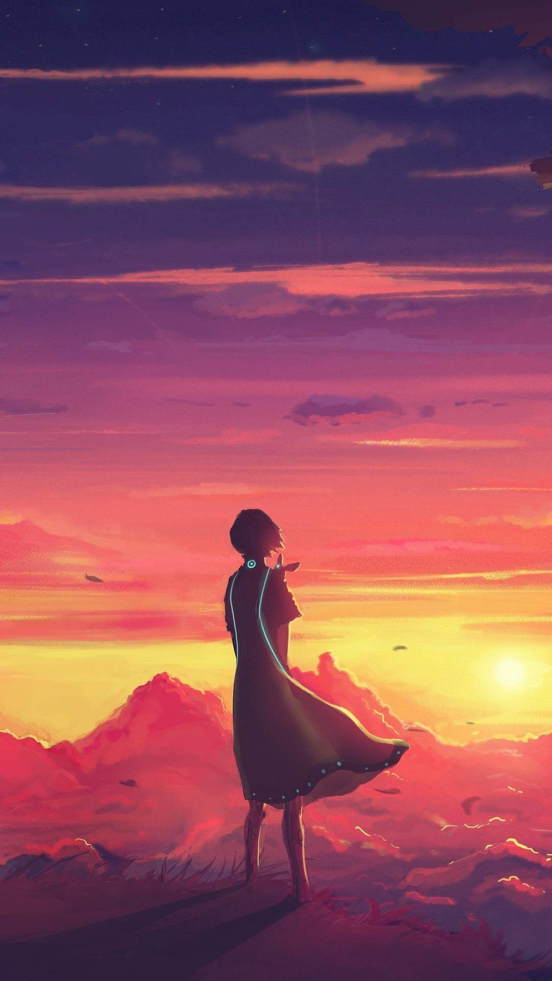 Future Anime iPhone Wallpaper