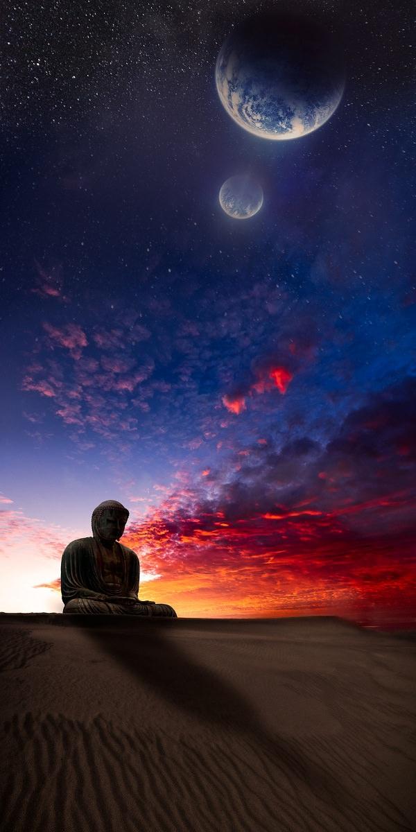 Gautama Buddha iPhone Wallpaper