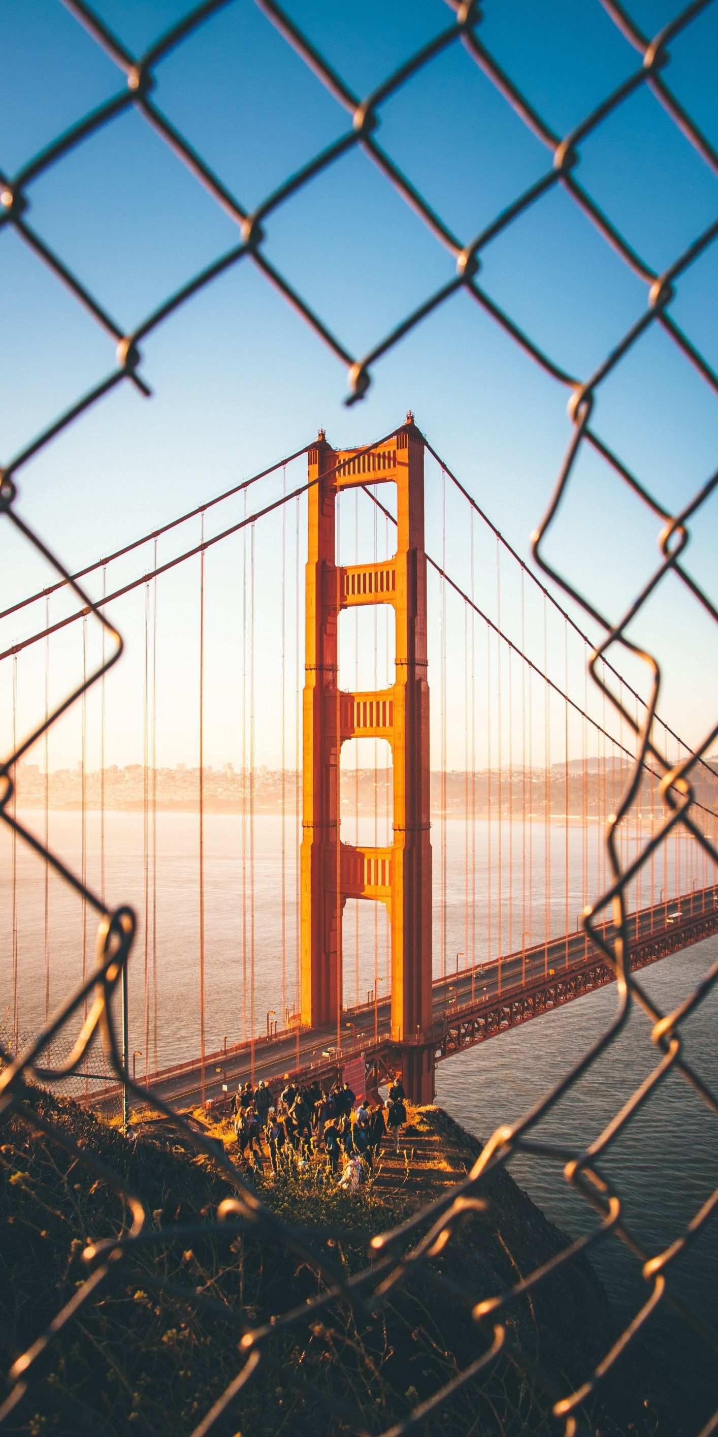 Golden Gate Bridge Photography iPhone Wallpaper