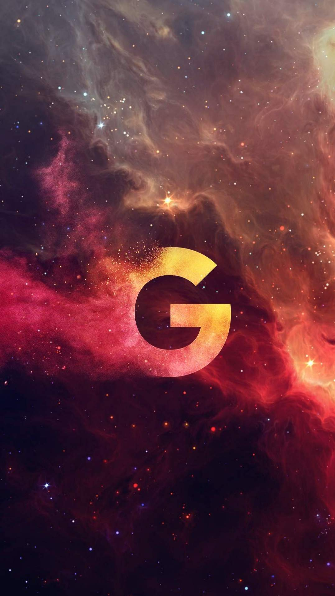 Google Universe iPhone Wallpaper