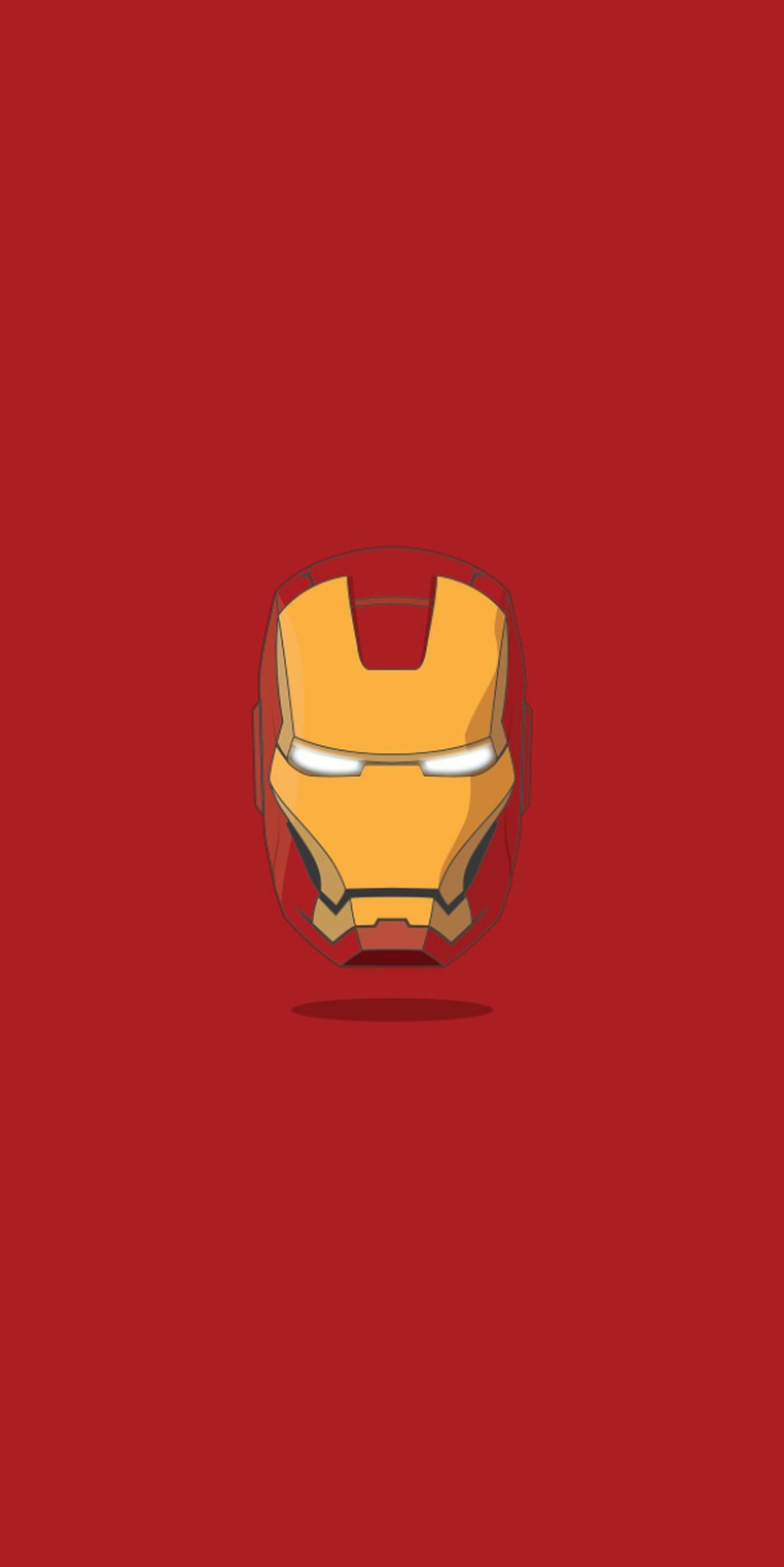 Iron Man Face Armour iPhone Wallpaper