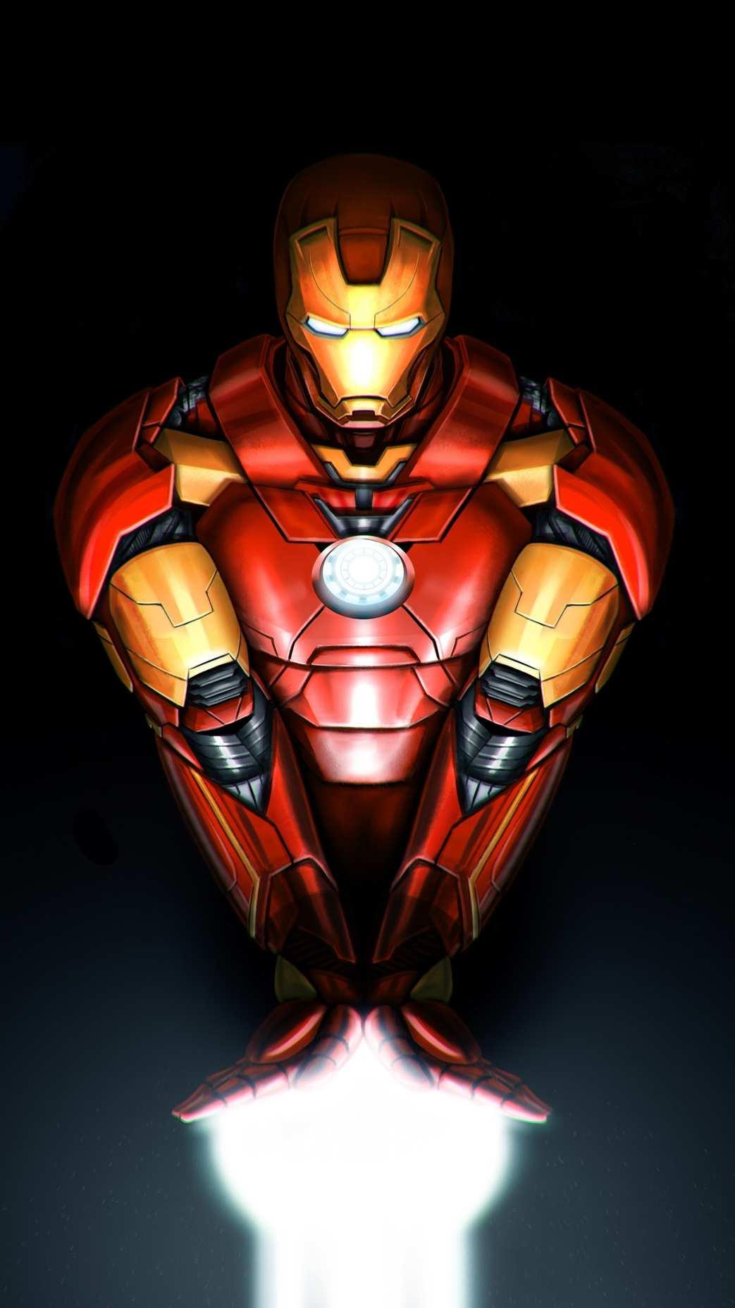 Iron Man Mark 42 iPhone Wallpaper