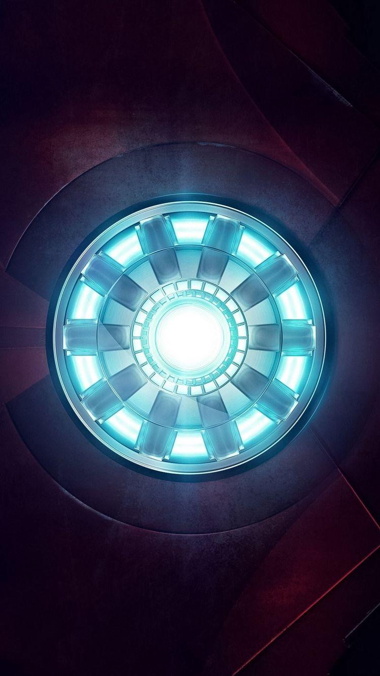Ironman Arc Reactor iPhone Wallpaper
