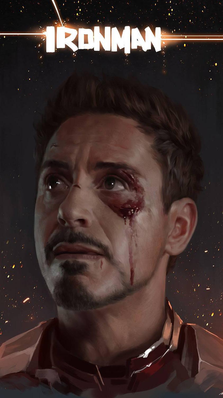 Ironman Tony Stark iPhone Wallpaper
