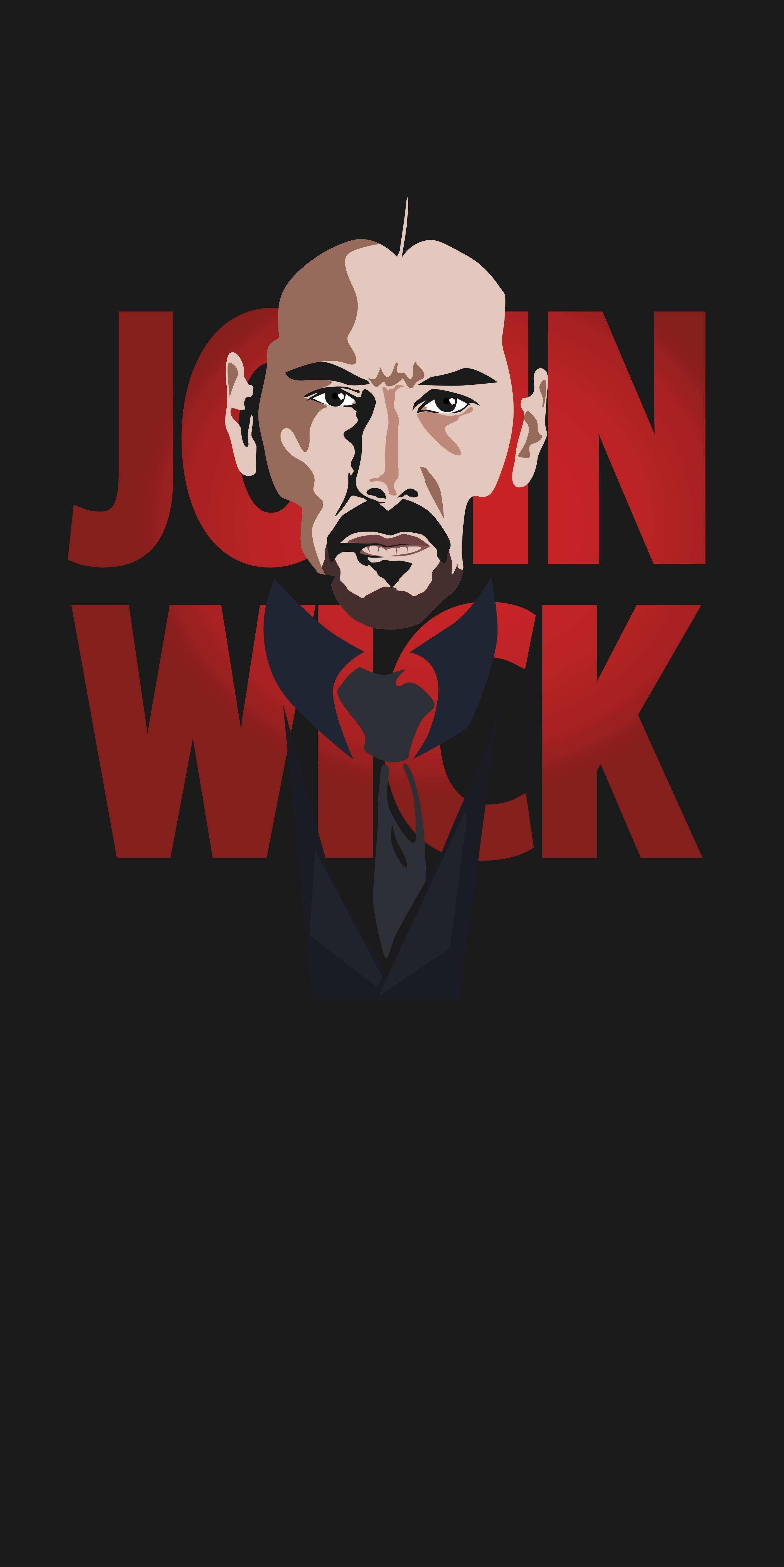 John Wick iPhone Wallpaper