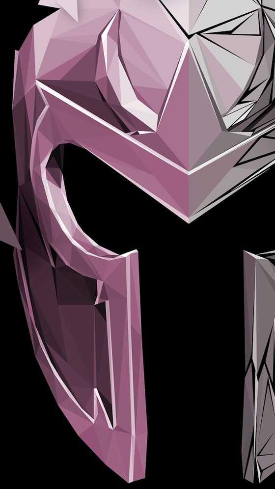 Magneto Helmet X Men iPhone Wallpaper