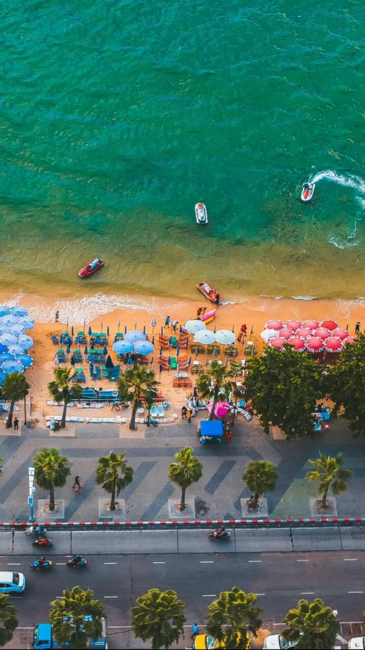 Miami Beach Fun Sky View iPhone Wallpaper