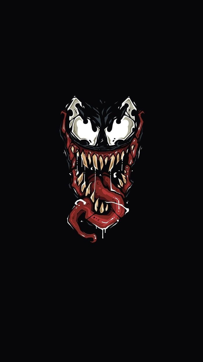 Monster Venom iPhone Wallpaper
