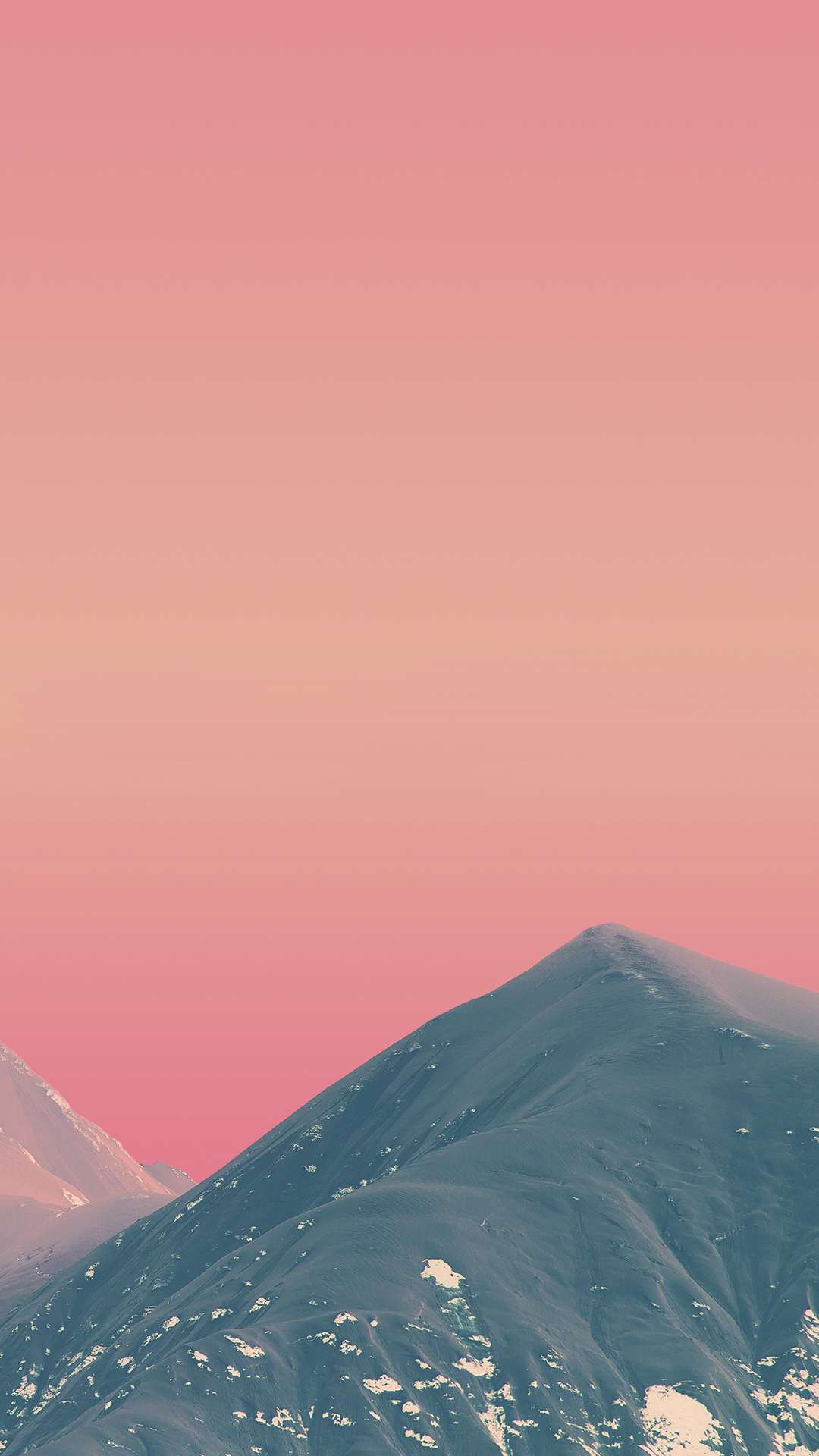 Red Sky Mountains iPhone Wallpaper