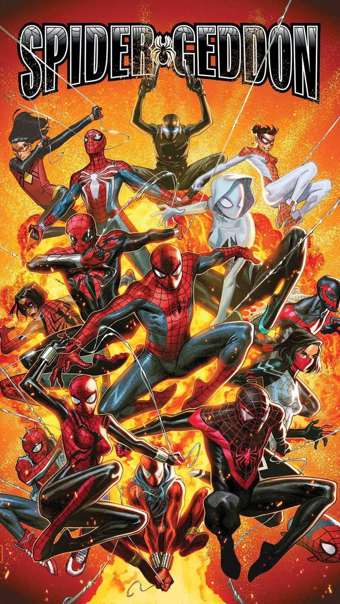 Spider Verse iPhone Wallpaper