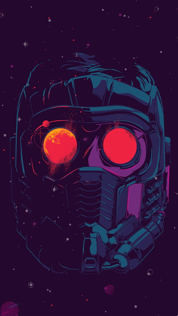 Star lord face mask iphone wallpaper iphone wallpapers - The north face wallpaper for iphone ...