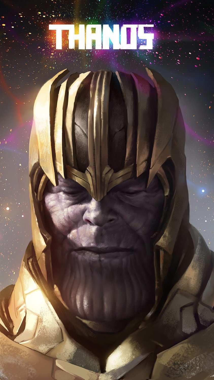 Thanos iPhone Wallpaper