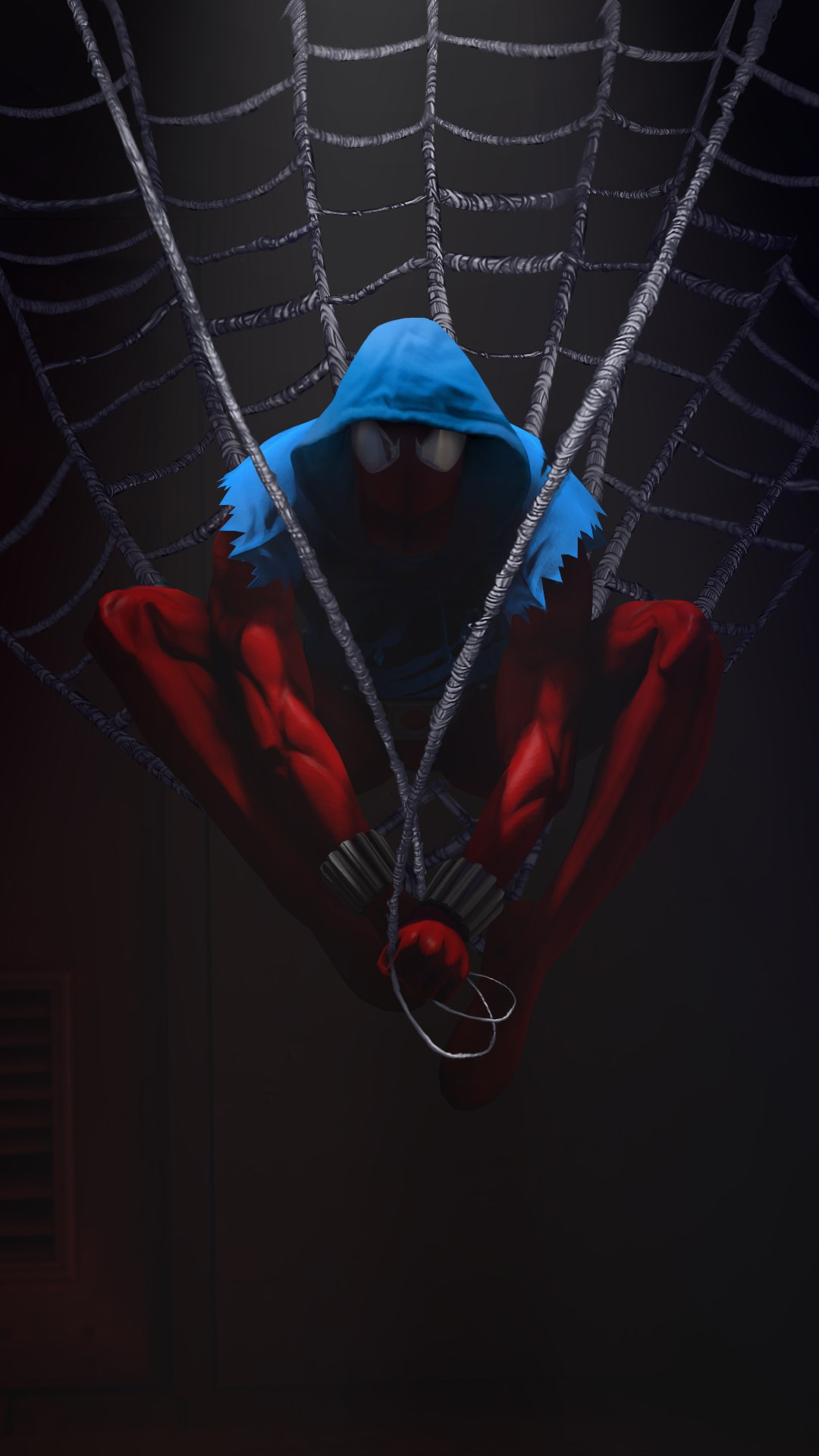 The Dark Spiderman iPhone Wallpaper
