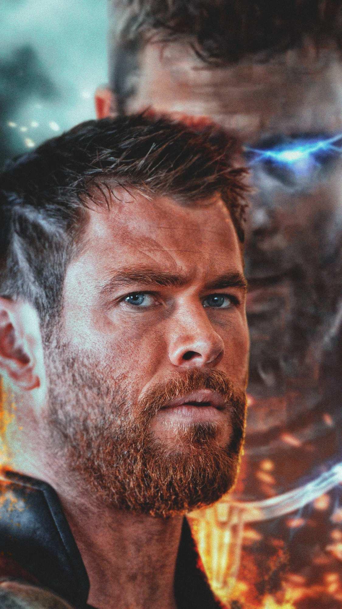 Thor God of Thunder iPhone Wallpaper