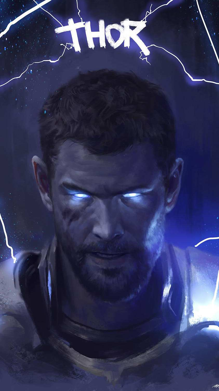 Thor Son of Asgard iPhone Wallpaper