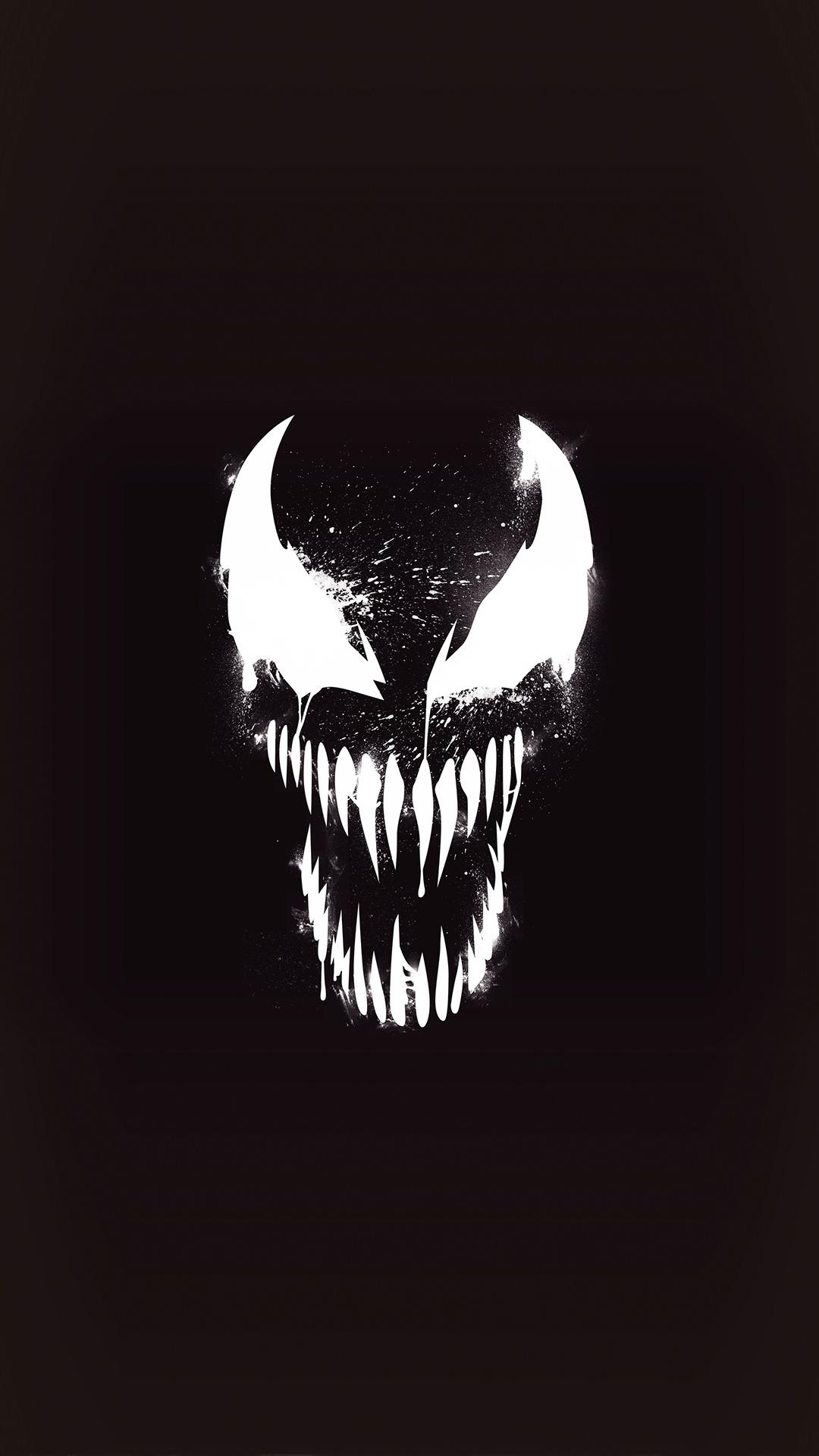 Venom Dark Minimal iPhone Wallpaper - iPhone Wallpapers ...