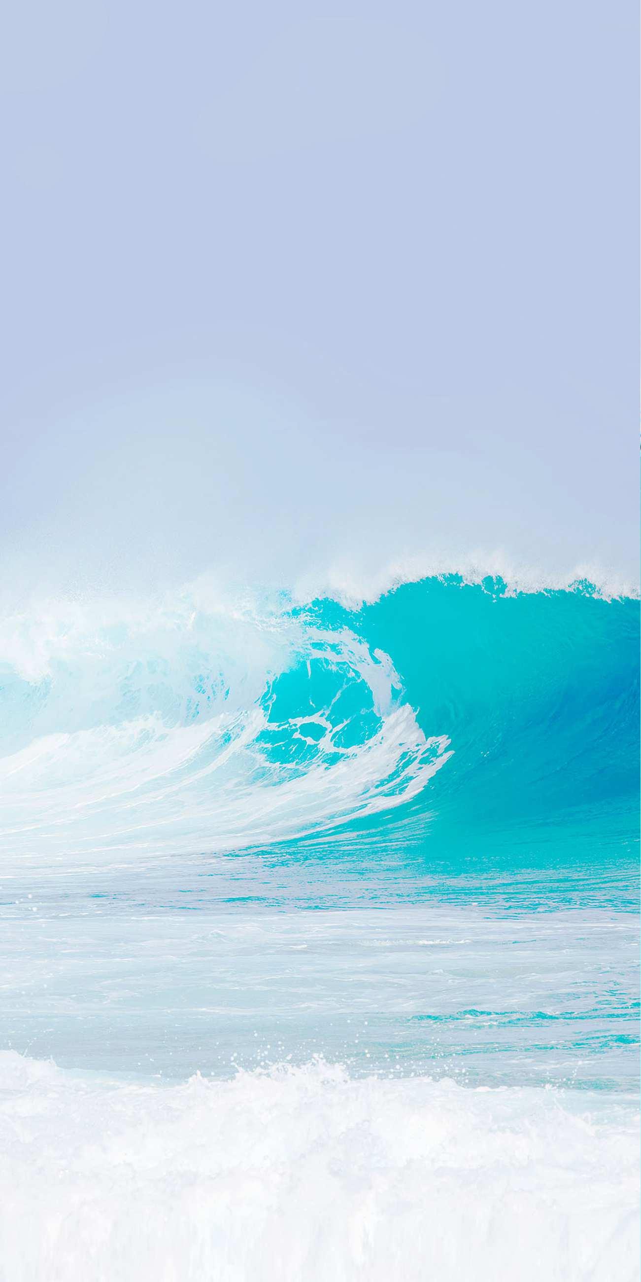 White Sea iPhone Wallpaper