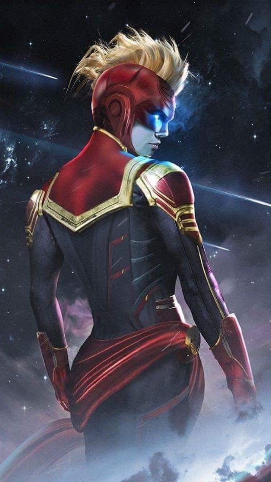 Wonder Woman Space Armour iPhone Wallpaper