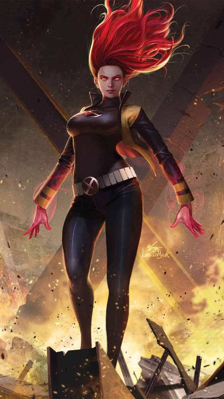 X Men Gene Grey iPhone Wallpaper