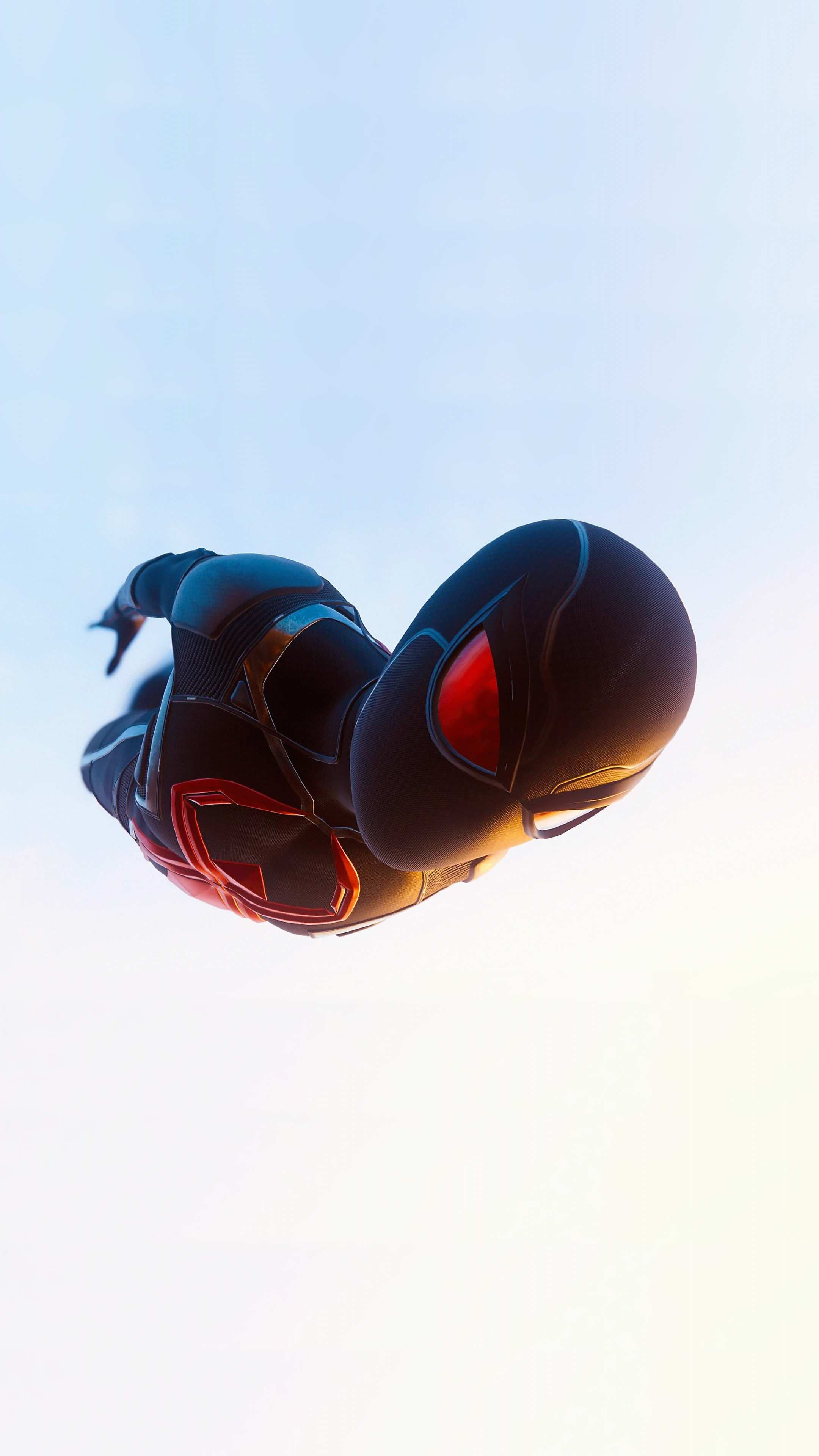 spider man video game jump dive iPhone Wallpaper