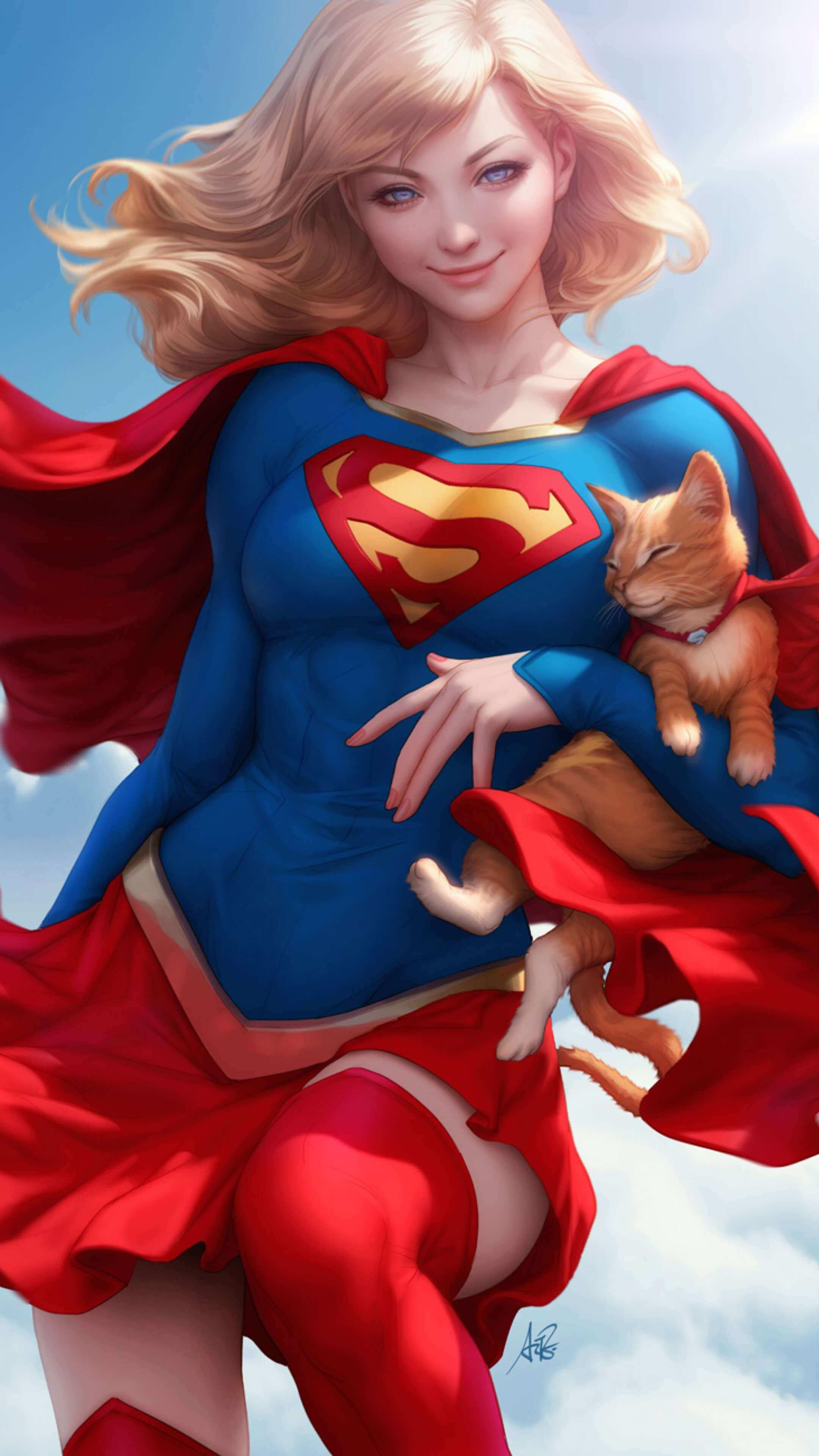 supergirl iPhone Wallpaper