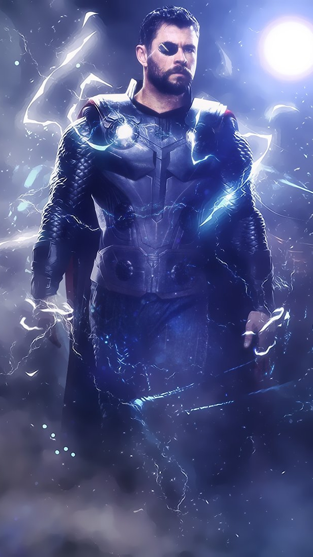 thor by accreed dcjg6jr iPhone Wallpaper