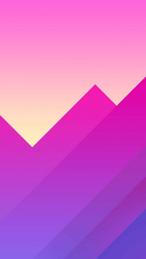 Abstract Mountains HD iPhone Wallpaper