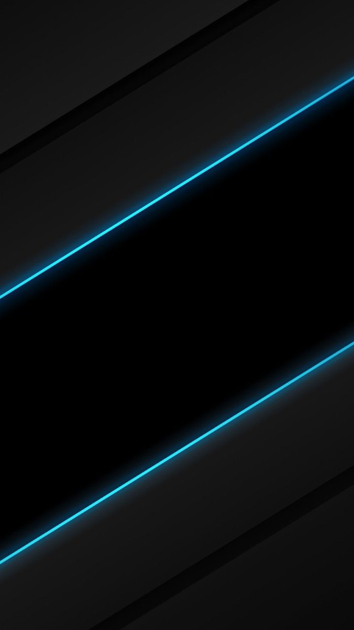 Abstract Neon Lines iPhone Wallpaper