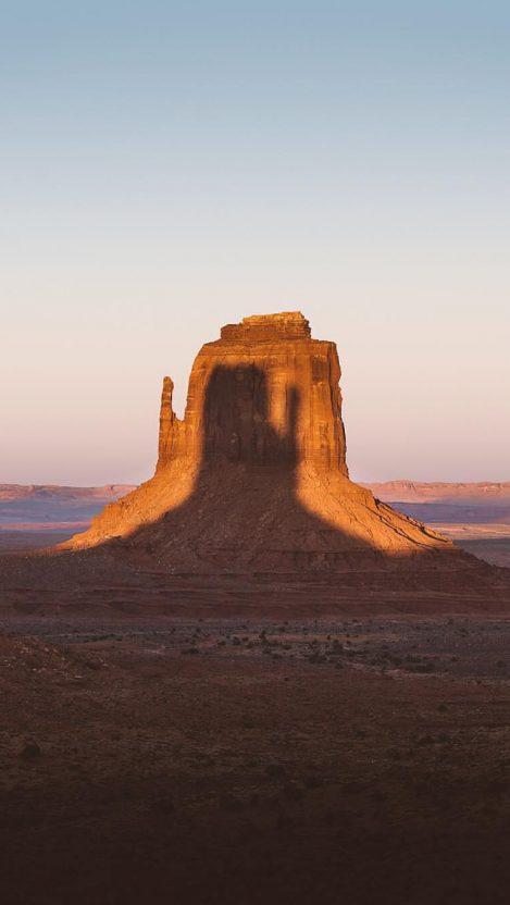 Arizona Desert Mountain iPhone Wallpaper