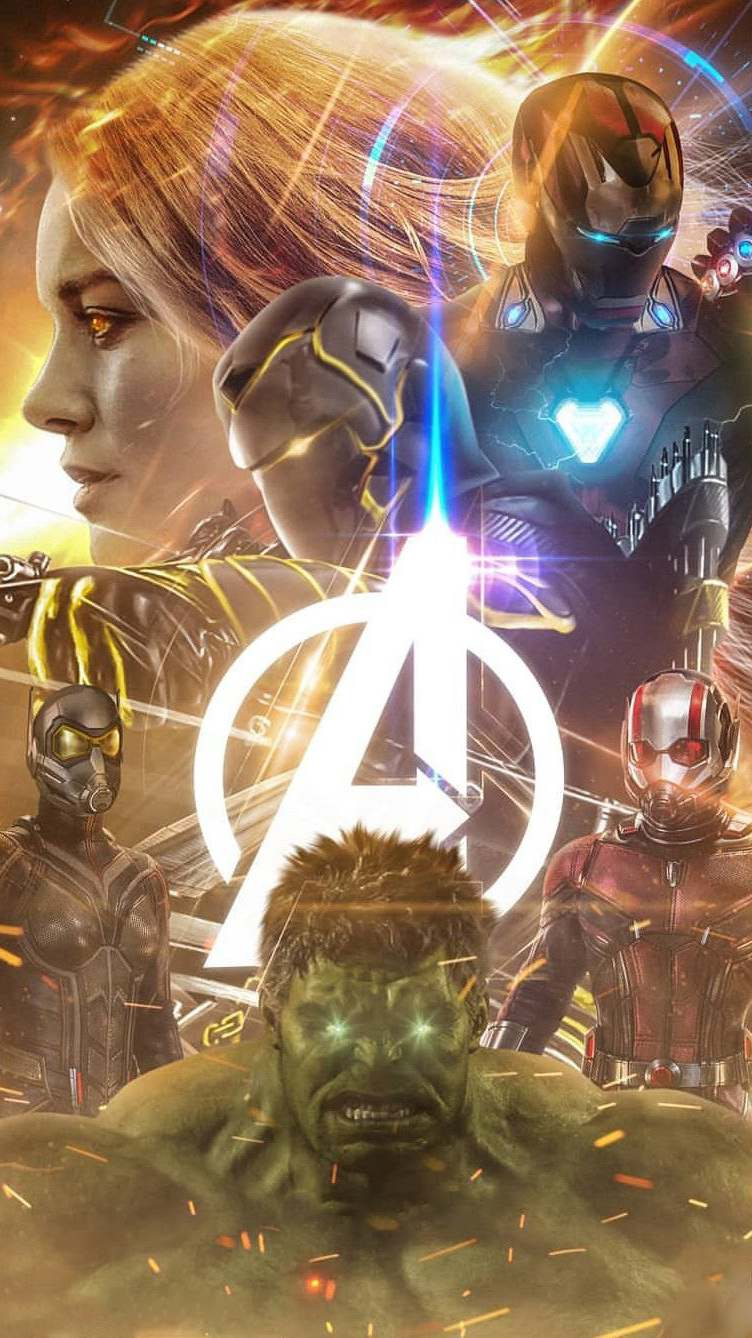 Avengers 4 Poster iPhone Wallpaper