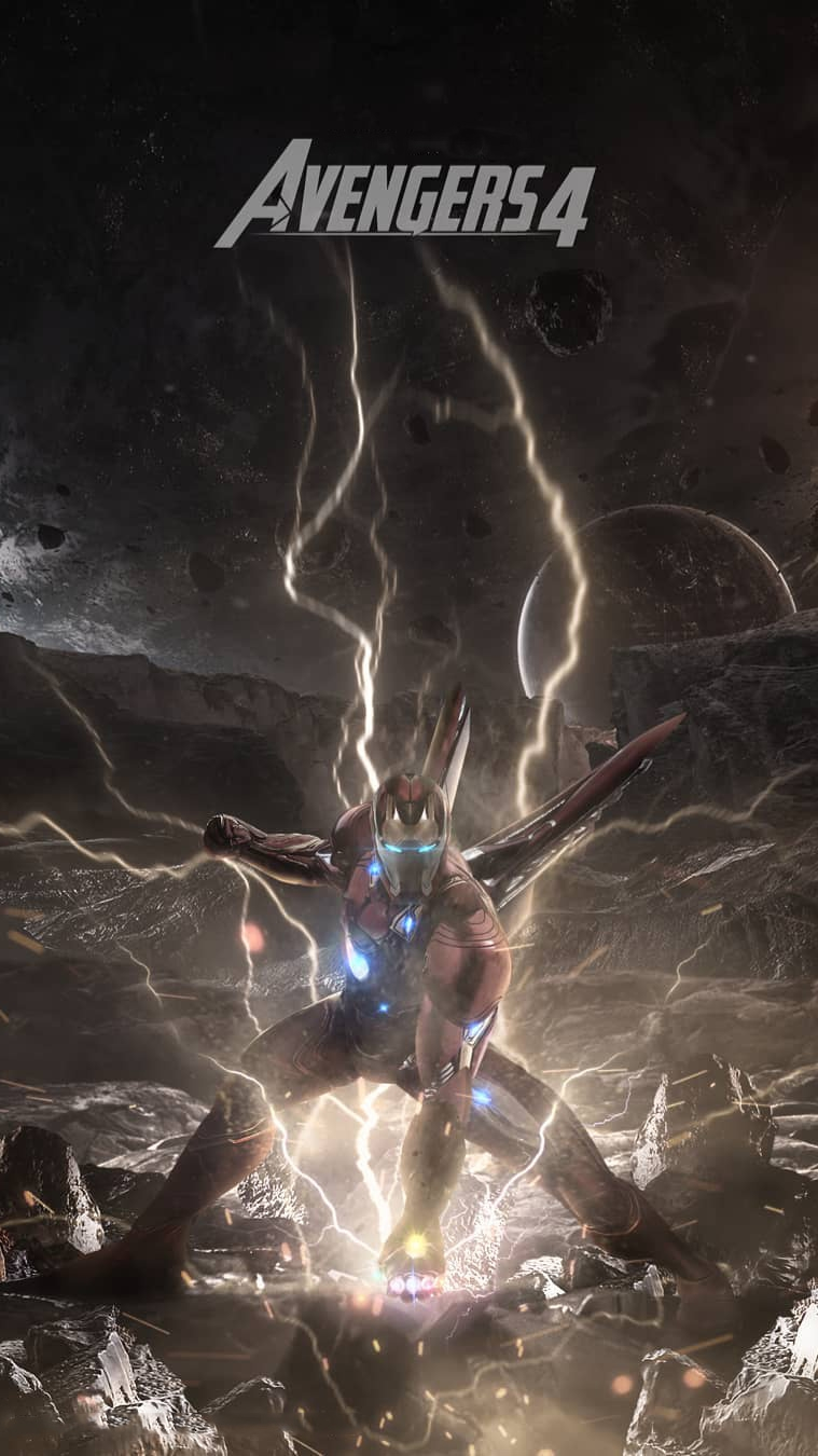 Download Avengers Endgame Iron Man Gauntlet Wallpaper Cikimm Com