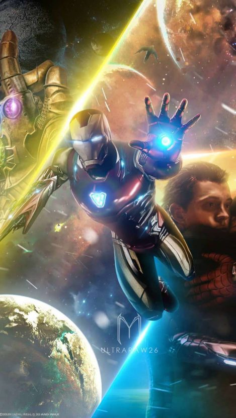 Avengers Endgame Tony Stark Iron Man Hd Iphone Wallpaper Iphone