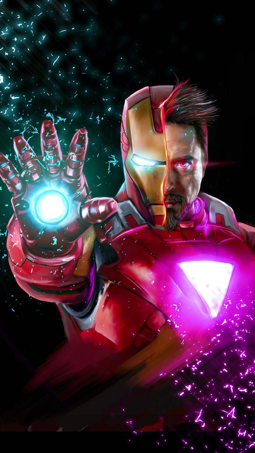 Avengers Endgame Tony Stark Iron Man iPhone Wallpaper